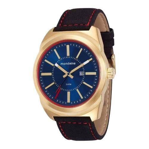 Relógio Mondaine Dourado Masculino Analógico76594gpmvdh1
