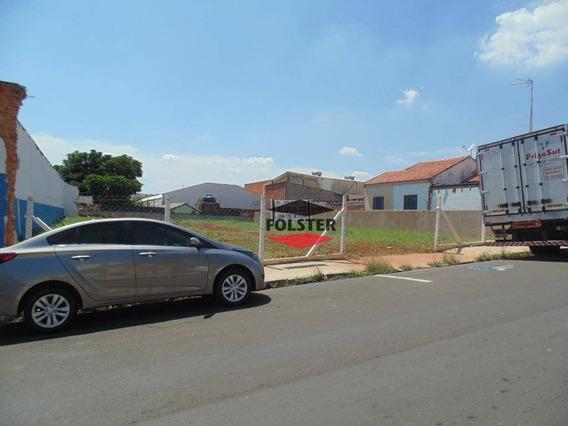 Terreno Para Alugar, 621 M² Por R$ 1.500/mês - Centro - Santa Bárbara D