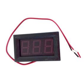 Voltímetro Digital Dc 4.5 V A 30 V Lcd