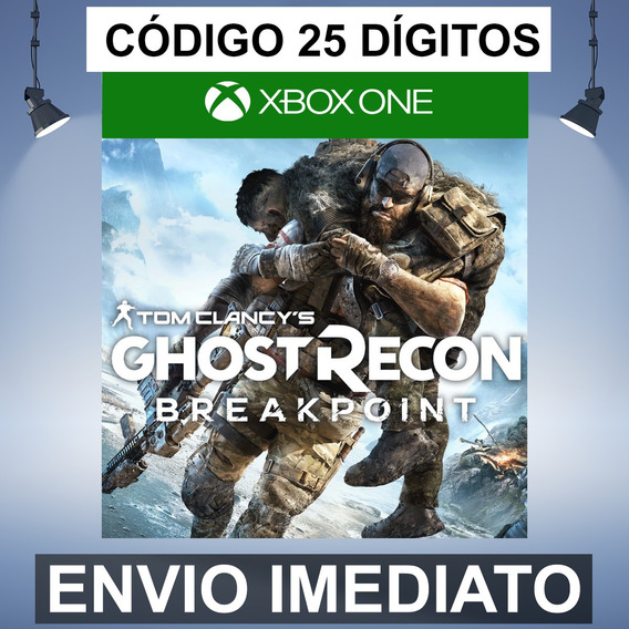 Ghost Recon Breakpoint Codigo De 25 Digitos Xbox