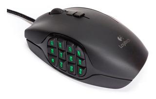 Mouse Gamer Logitech G600 Láser Retroiluminado Mmo 8200dpi