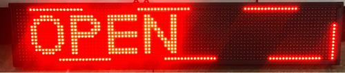 Pantalla Aviso Publicitario Led Luminoso Programable 100 Cm