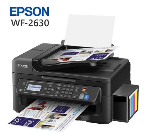 Impresora Epson Workforce Wf-2630 + Ciss   Ecotank Nueva
