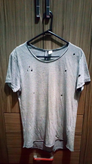 Polo H&m Para Hombre Zara Mango Slim Fit Longer Billabong H