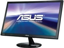 11303 Monit. Led 22 Asus Vp228h Fullhd/hdmi/vga/dvi Black