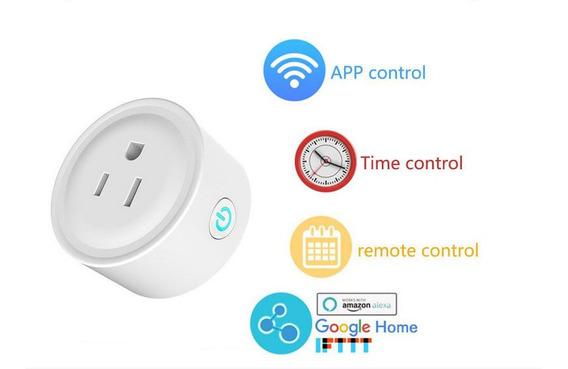 Smart Plug Wifi Conector Inteligente, Alexa Y Google