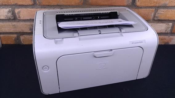 Impressora Hp Laserjet P1005 Revisada Com Garantia 90 Dias