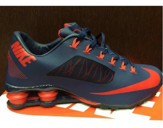 Tenis Nike Shox Superfly Azul E Vermelho Nº43 Original!