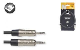 Cable Stagg Auxiliar Mini Plug - Mini Plug 1 Metro + Envio