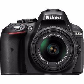 Câmera Nikon D5300+18-55+64gbc/10+bolsa+tripe,p/ Entrega S/j