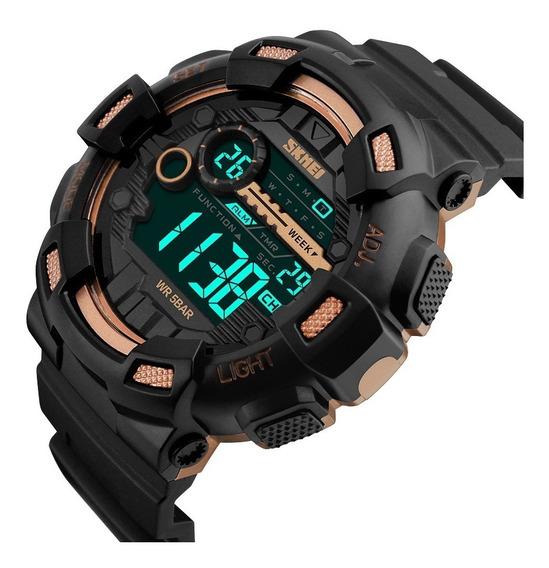 Relógio Masculino Militar Skmei A Prova D