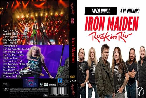 Dvd Show Iron Maiden Rock In Rio 2019