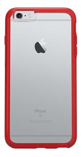 Funda iPhone 6 Plus Tpu/pc Estuche Rojo Otsgak