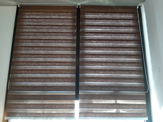 Cortina Roller Duo Importada (2) 1.04x2.95 Cmts Impecables!!