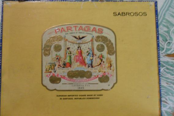 Cajas De Cigarros De Rep.dominicana Partagas