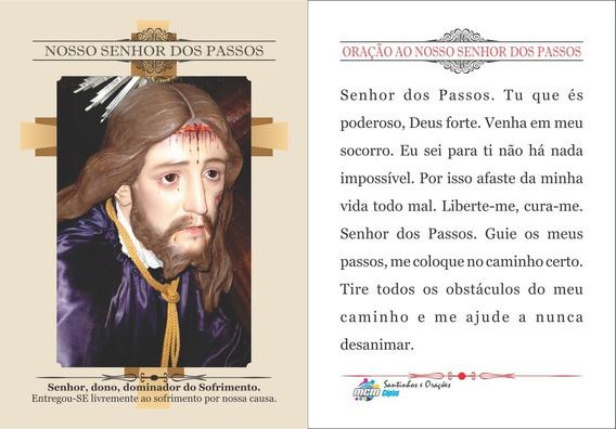 Nosso Senhor Dos Passos (500 Santinhos Oração) Frete Grátis