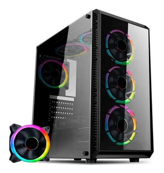Computador Gamer Amd Ryzen 5 2600 3.4ghz Mem. 8gb Ddr4 Ssd
