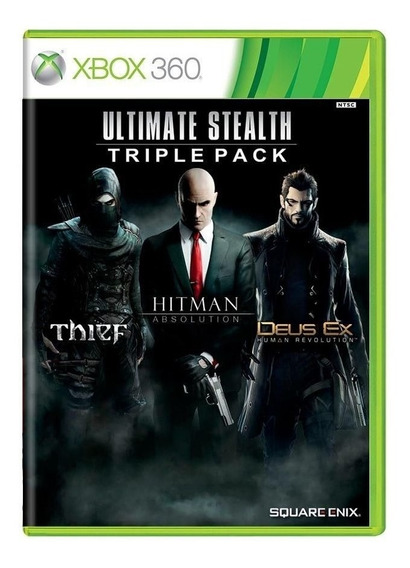 Pacote Ultimate Stealth: Thief + Hitman Absolution + Deus Ex