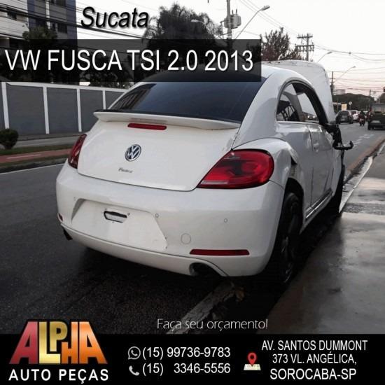Sucata Vw Fusca 2.0 Tsi 2013 - Retirada De Peças