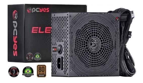Fonte Atx 450w Real Electro V2 Series 80 Plus Bronze 3 Anos