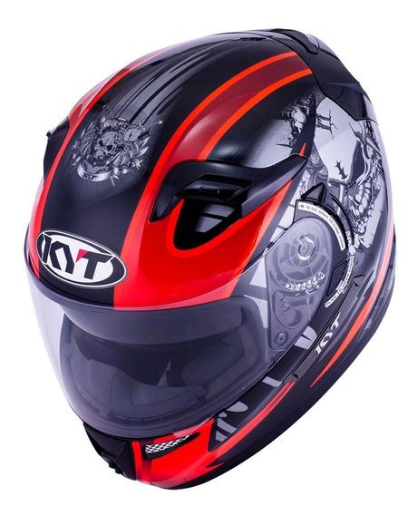 Casco Moto Kyt Venom Integral Doble Visor Calidad Premium
