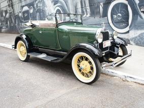 Ford A 1929 Roadster Baratinha Banco Da Sogra