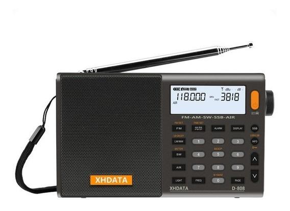 Rádio Xhdata D-808 Am/fm Stéreo/lw/sw/ssb Importado Dsp