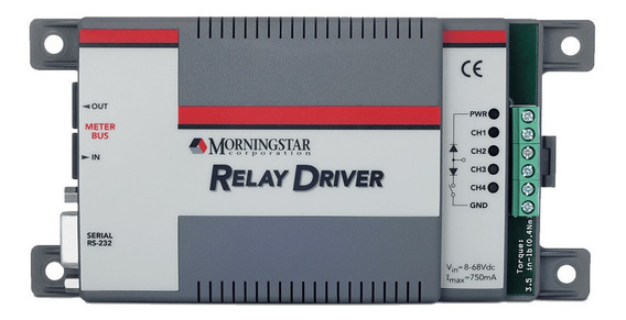 Caja De Reles Para Regulador Morningstar - Rd-1 Cuotas S/int