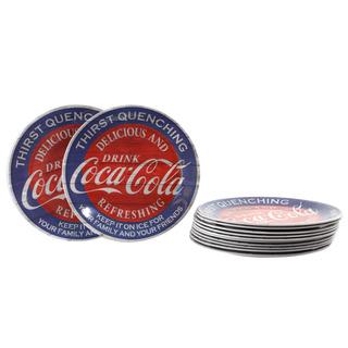 Coca-cola Americana Melamine 12 Pieza 9 Pulgadas