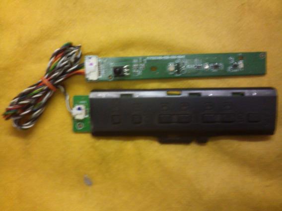 Placa Sensor E Treclado Tv Sony Modelo Kdl-40bx455