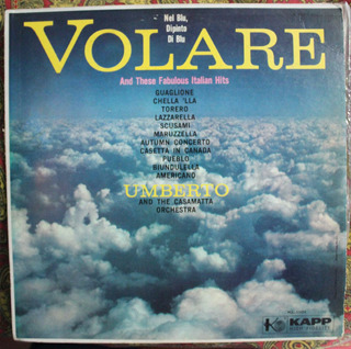 Volare Umberto And The Casamatta Orchesta Vinyl