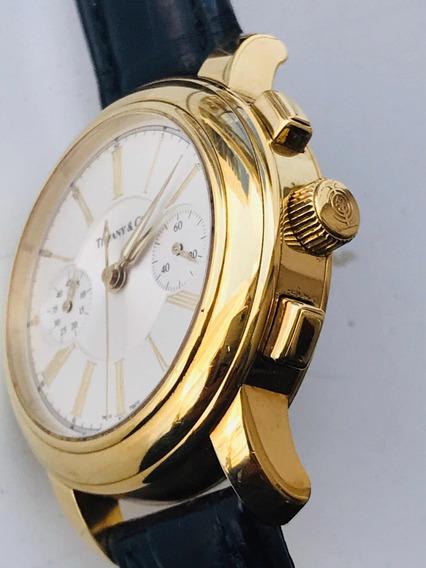 Relógio Tiffaany & Co. Ouro 18k-750.