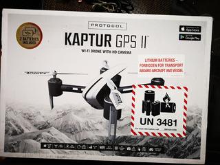 Protocol Kaptur Gps Ll Wi-fi Dron Con Camara