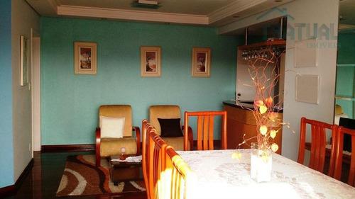Imagem 1 de 30 de Apartamento  Residencial À Venda, Vila Bastos, Santo André. - Ap0122