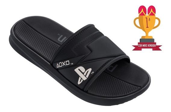 Chinelo Sandália Rider Slide Playstation Ps4 21980 Promoção