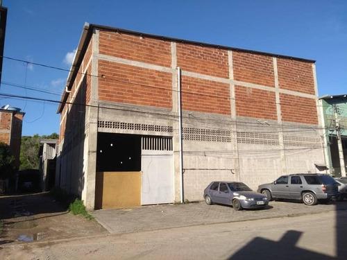 Galpão Para Vender Com 1240 M², Em Jardim Carapina, Serra/es - 1080