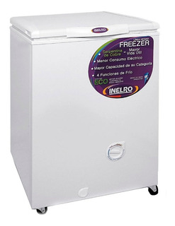 Freezer Horizontal Inelro Fih 130 135 Lts Eficiencia A Dual