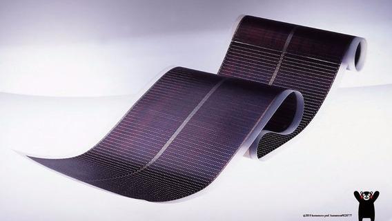 Kit Placa Solar Flexível 100w +controlador + Redutor 24v