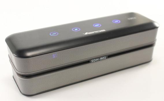 Caixa Som Com Nfc E Bluetooth Portátil Viva Voz Rádio Fm Mp3