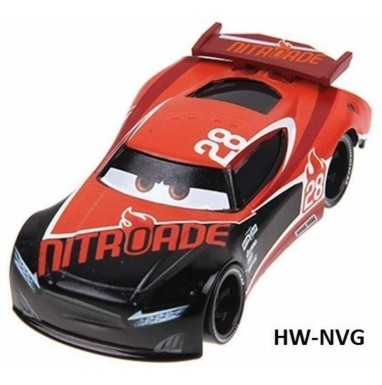 Disney Cars 3 Tim Treadless #28 Nitroade Orig Mattel Loose