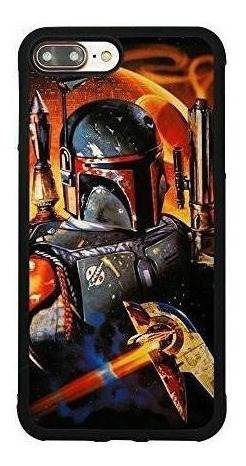 Imagen 1 de 5 de Star Wars Boba Fett Case iPhone 7 Plus / 8 Plus (5.5 Comic +