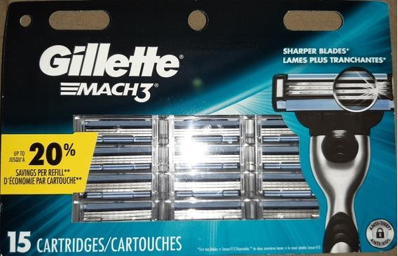 Repuesto Prestobarba Gillette Mach3