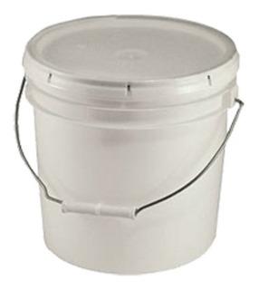 Cubeta Con Tapa Sellafacil Capacidad 10 Litros 10 Piezas