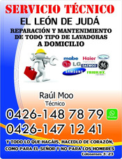 Reparacion Y Mantenimiento De Lavadoras A Domicilio