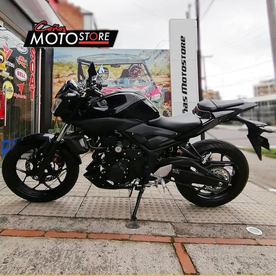 Yamaha Mt 03 Negra 2020