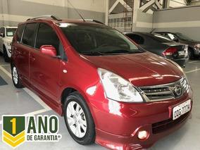 Nissan Livina S 1.8 16v Flex, 1 Ano De Garantia