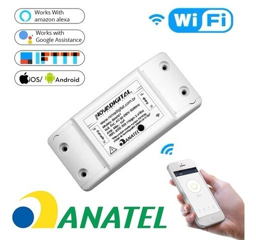 Interruptor Wifi Automação Residencial Casa Inteligente Ms01