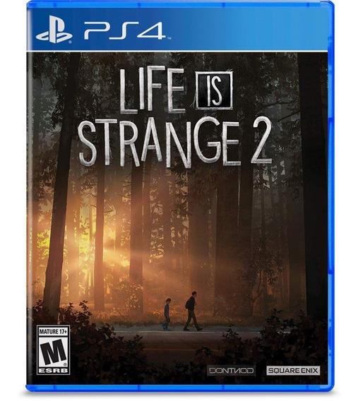 Life Is Strange 2 Ps4 Mídia Física Pronta Entrega