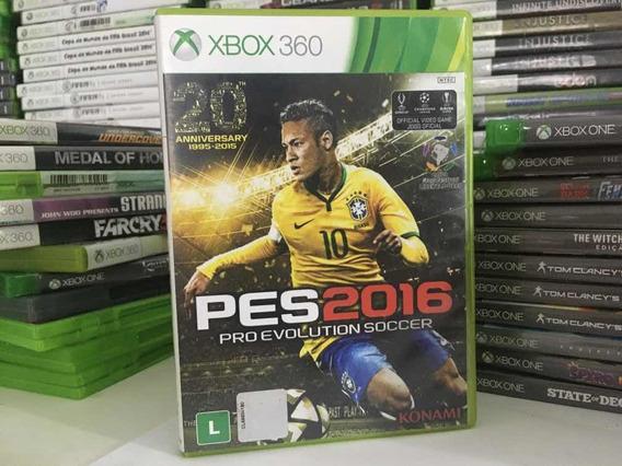Pes 16 Pro Evolution Soccer Para Xbox 360em Cd