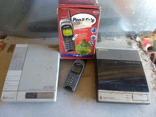 Retro Celular Gradiente Peg Fale + 2 Panasonic Easa Phone